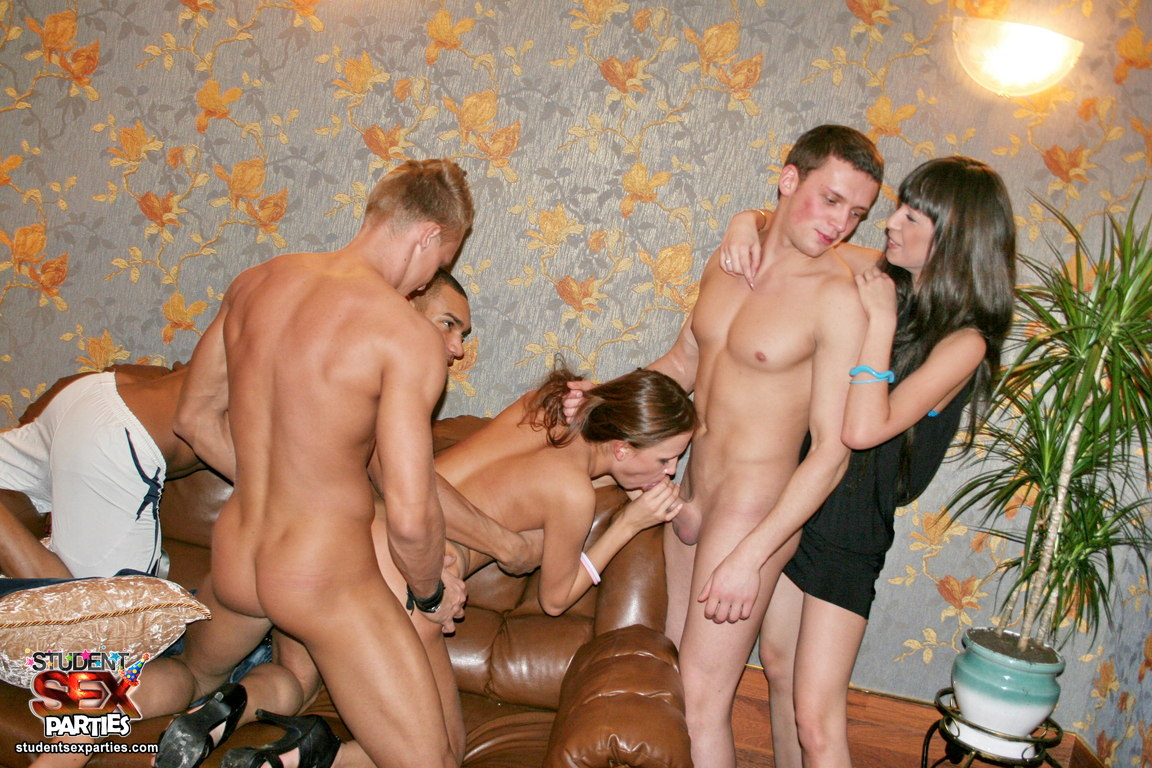 student party in the dorm into a group sex  XVIDEOSCOM